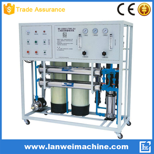 700L/H Reverse Osmosis System Water Filtration Machine