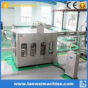 China Factory Washing Filling Capping Machine (3-in-1)